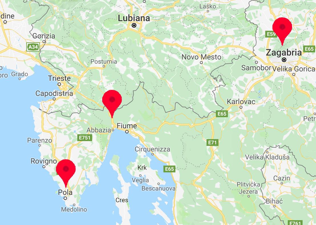 Mappa Dentour