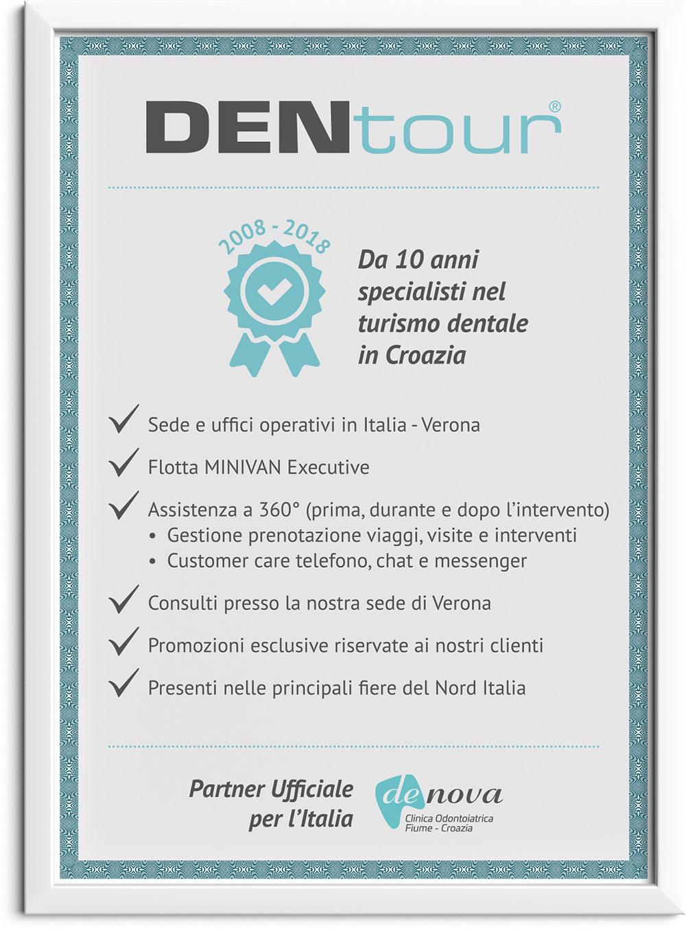 Certificazione Dentour